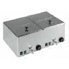 mit Ablaufhahn; 2x1/2 GN; 230V/ 2,0 kW
